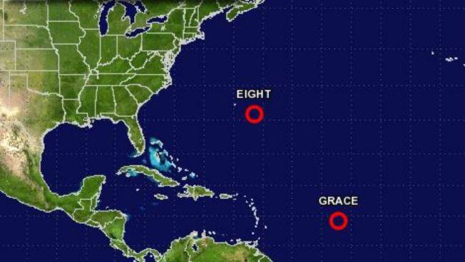 Surge octava depresión tropical en el Atlántico