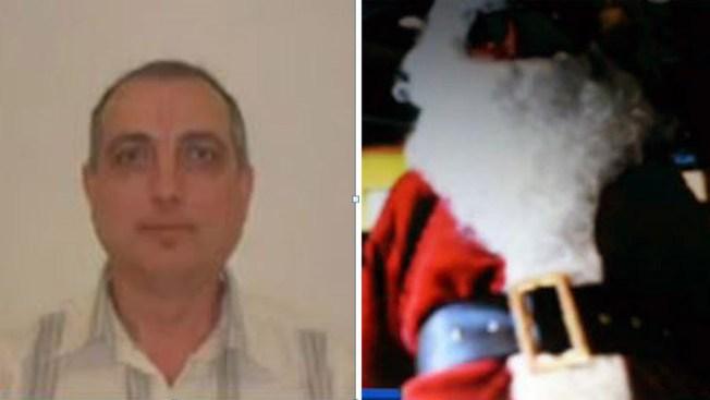 Ofensor sexual disfrazado de Santa Claus