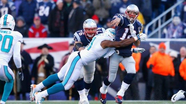 Patriots ganan a Dolphins; aseguran título divisional