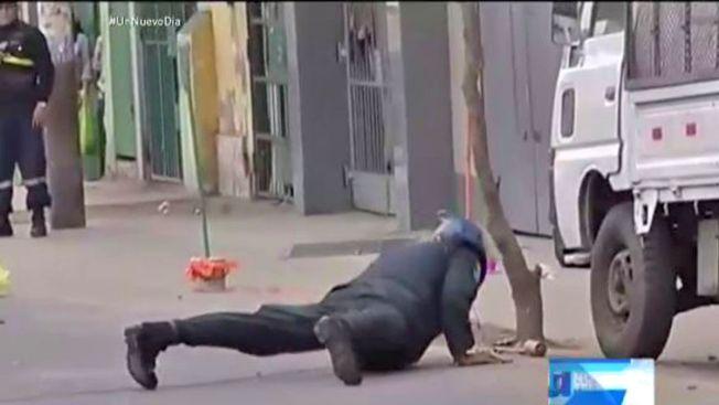 Policía muere al desactivar granada en escuela