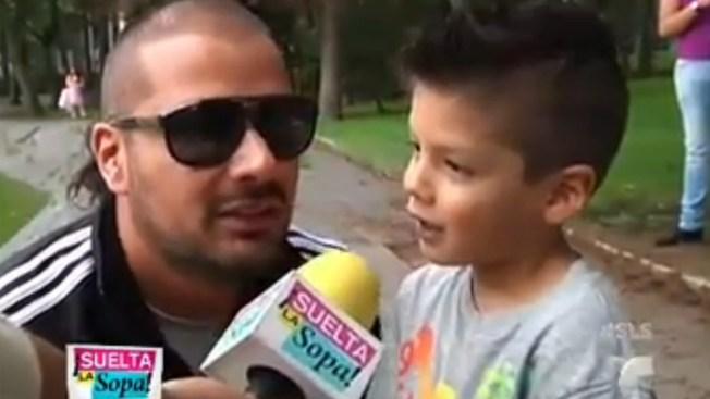 Hijo de Tommy Vásquez es su guardaespaldas