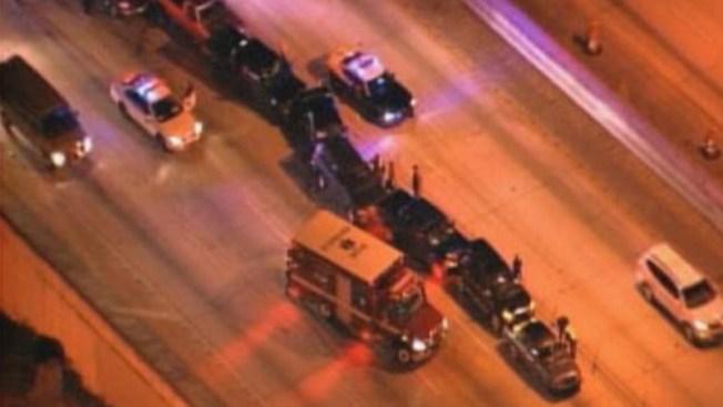 Choque en cadena: 10 carros involucrados