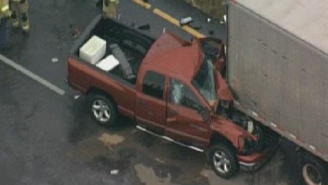 Violento accidente en Sawgrass Expressway