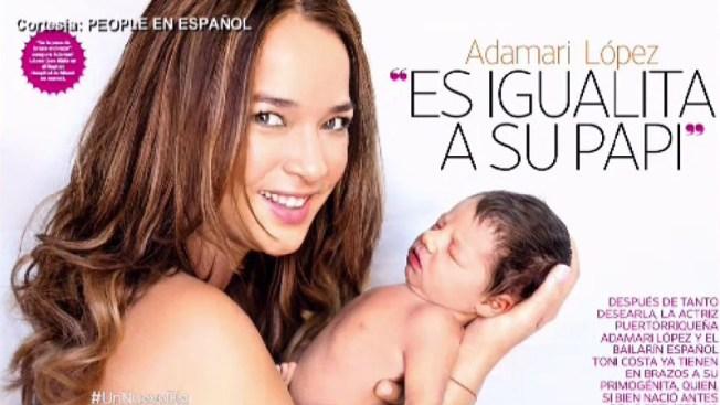 """Adamari López: Alaïa """"es igualita a su papá"""""""