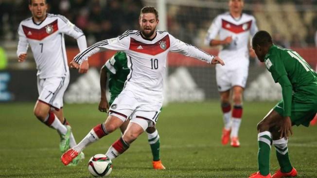 Alemania sigue invicta al vencer a Nigeria