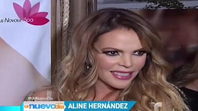 "Aline Hernández responde a película ""Gloria"""