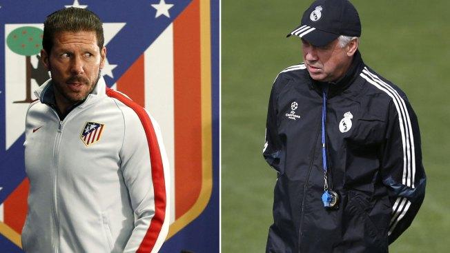 Champions: Real Madrid y Atlético afilan las armas