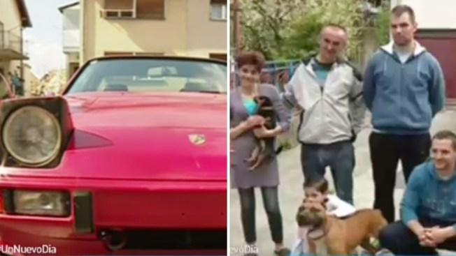 Ofrece Porsche de recompensa y... ¡sorpresa!