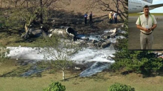 Accidente aéreo en Miami deja 4 muertos