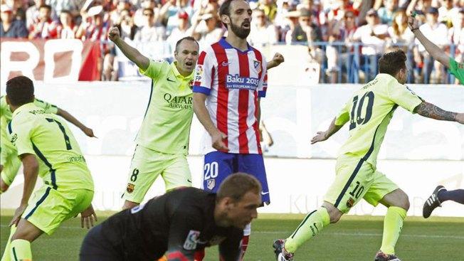 Messi corona al Barça campeón de Liga