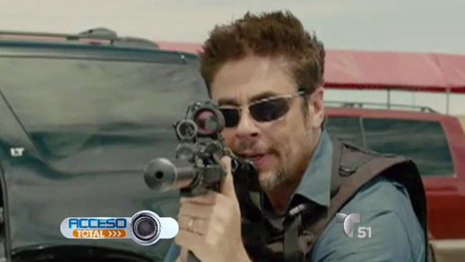 """Benicio del Toro se mete en la piel de """"Sicario"""""""