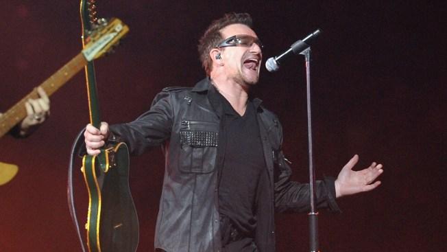 Bono podría no volver a tocar guitarra