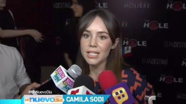 Camila Sodi no descarta posar para Playboy
