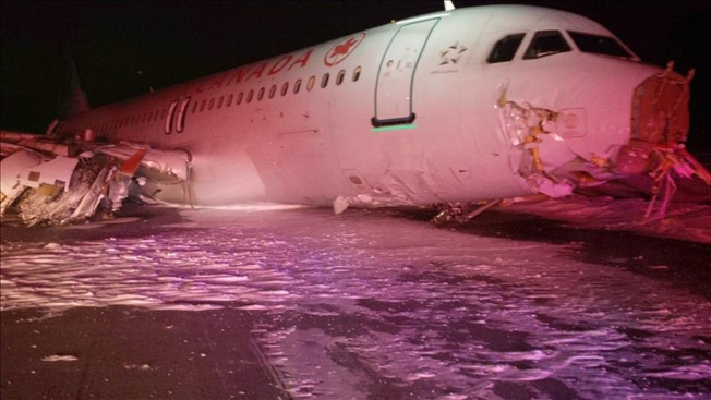 23 heridos en accidente de avión en Canadá