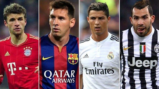 Champions: Barsa-Bayern y  Madrid-Juventus