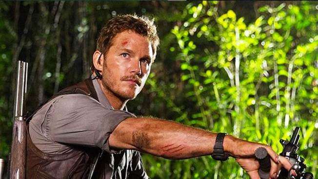 "Chris Pratt brilla a lo grande en ""Jurassic World"""