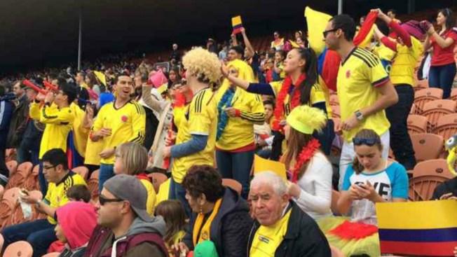Carnaval colombiano en Nueva Zelanda 2015