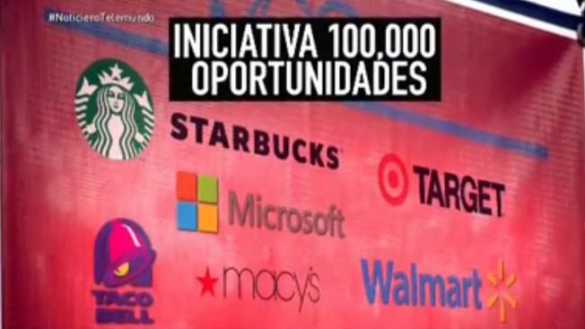 Empresas crean 100,000 empleos para jóvenes
