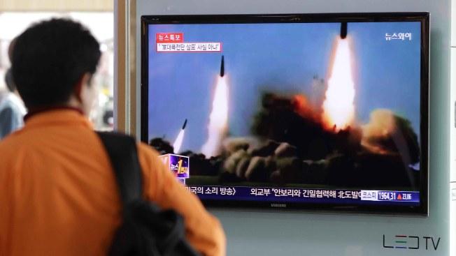 Pyongyang probó misil capaz de portar una 'ojiva nuclear pesada'