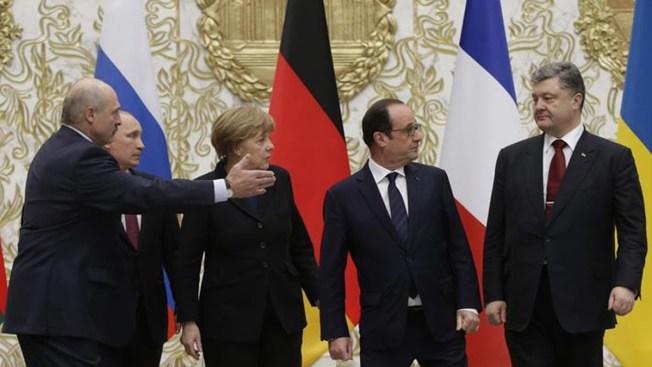Logran acuerdo de paz para Ucrania