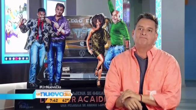 """Daniel Sarcos estrena """"Los paracaidistas"""""""