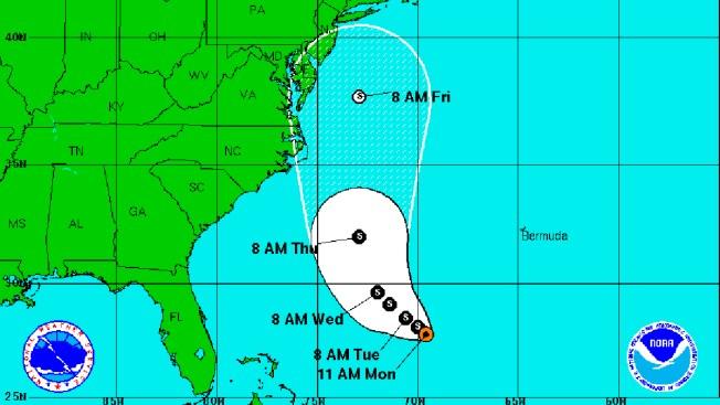 Se forma nueva depresión tropical en Atlántico