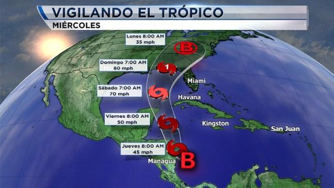Se forma la Depresión Tropical 16