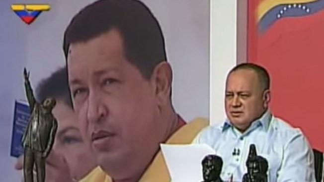 Diosdado Cabello ataca a la cadena Telemundo