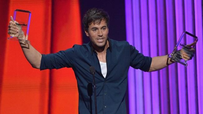 Enrique Iglesias y su secreto para ganar 46 premios Billboard