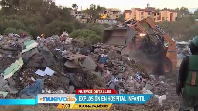 El horror de la explosión en hospital de México