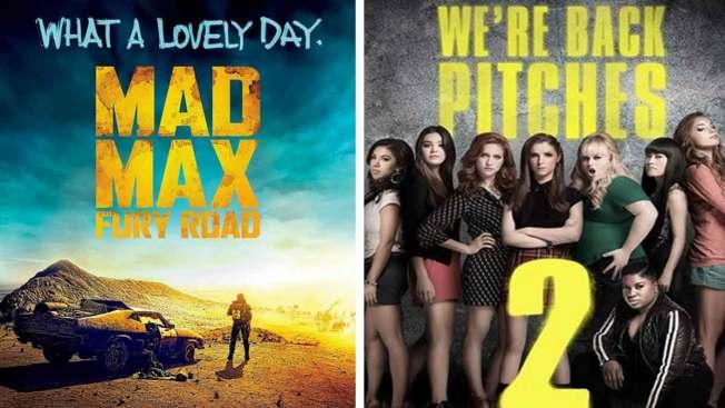 "Cine: ""Mad Max: Fury Road"" y ""Pitch Perfect 2"""