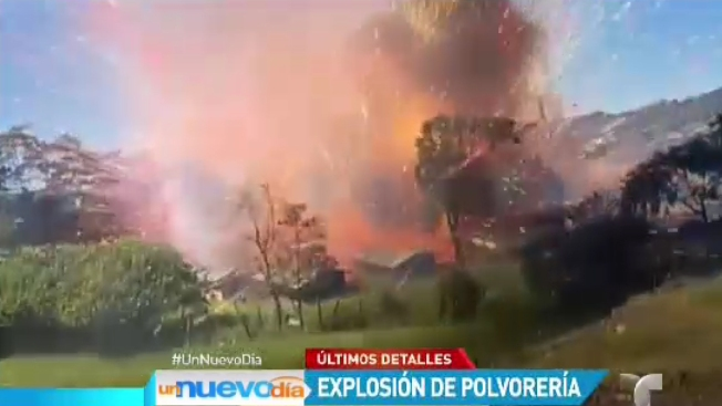 Colombia: estallan 24 toneladas de pólvora