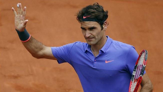 Selfie empaña victoria de Federer