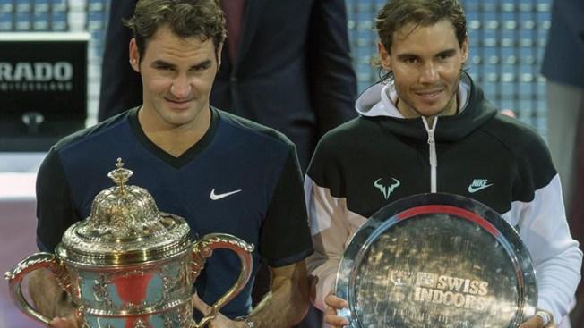 En un partidazo, Federer derrota a Nadal