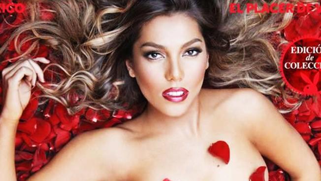 Frida Sofía se exhibe desnuda en Playboy