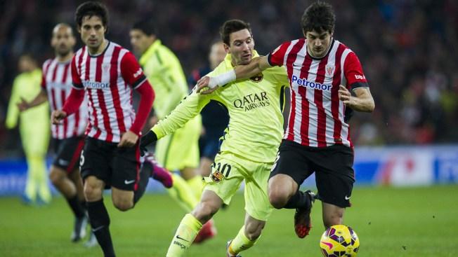 Fútbol: Messi se luce en triunfo del Barcelona