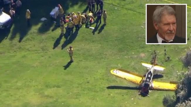 Harrison Ford se recupera de accidente