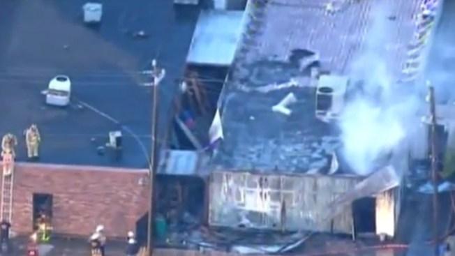 Se incendia Instituto Islámico en Houston