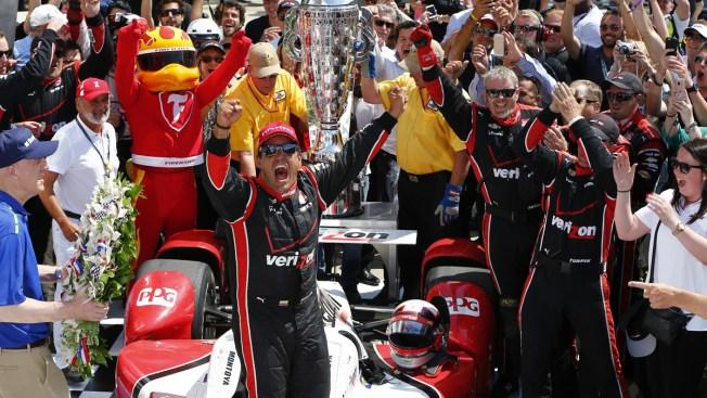 Juan Pablo Montoya gana carrera de Indianápolis
