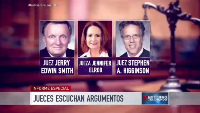 DACA y DAPA en manos de tres jueces