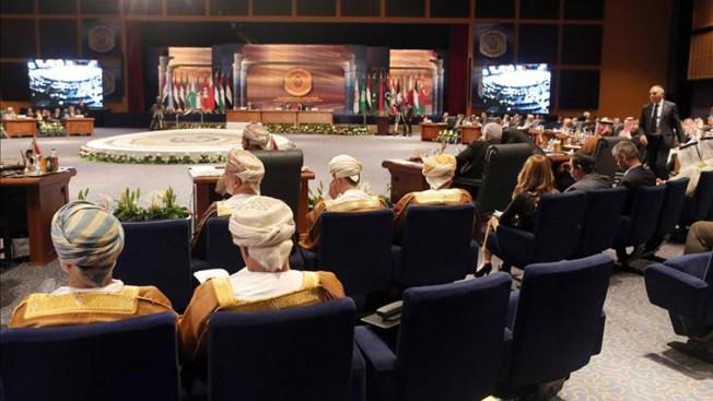 Líderes árabes aprueban fuerza militar conjunta