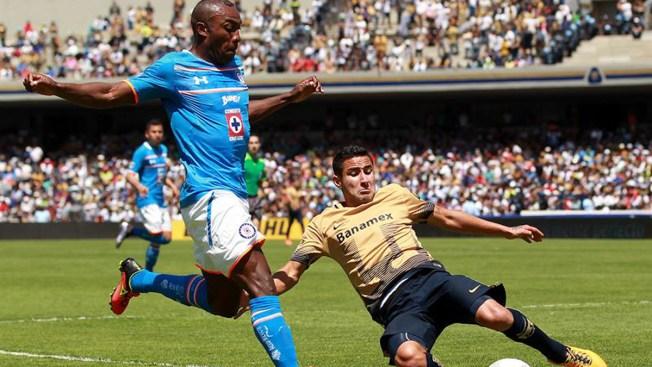 Cruz Azul empata con Pumas y Veracruz con Puebla