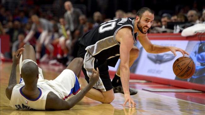 Spurs apalean a Timberwolves, pierden a Manu