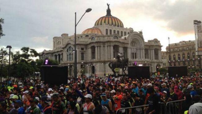 Muere un participante en el maratón de México