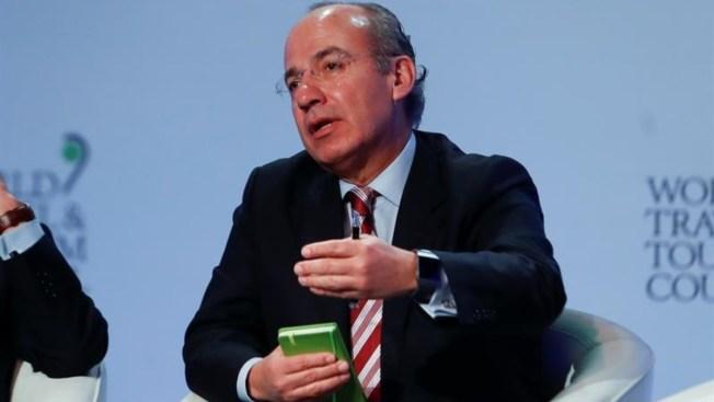 Expresidente Calderón niega fraude electoral en 2006