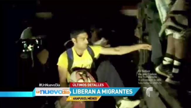 México: liberan a migrantes centroamericanos