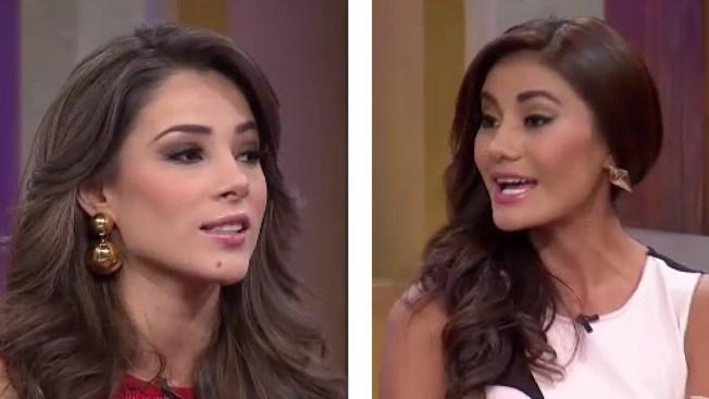 Nos visitan Miss México y Miss El Salvador