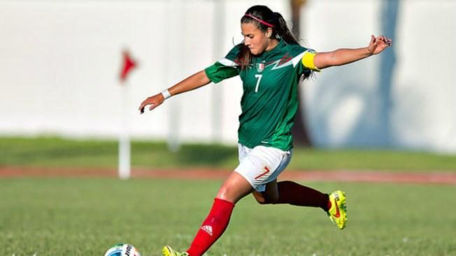 Nayeli Rangel sueña con ganar la Copa Mundial Femenina