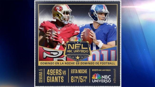 Hoy: New York Giants vs. San Francisco 49ers