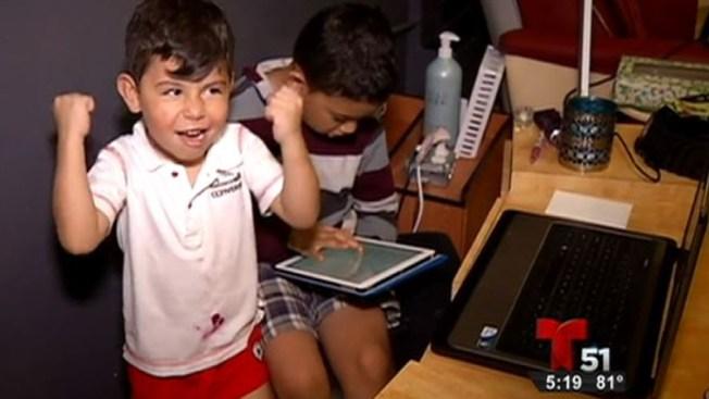 Niño víctima de robo de iPad recibe sorpresa